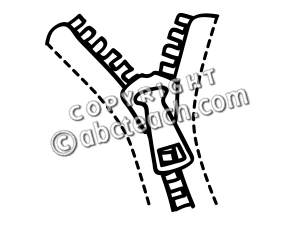 Zipper Black And White Clipart Images   Pictures   Becuo