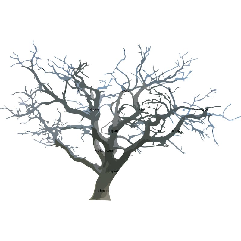 Clipart Dead Tree 2   Royalty Free Vector Design