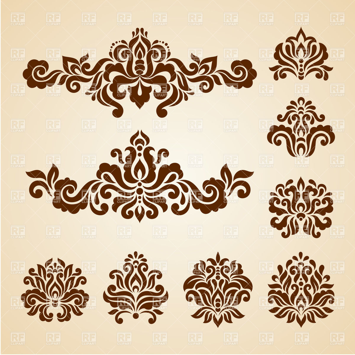 Decorative Elements Clipart - Clipart Kid