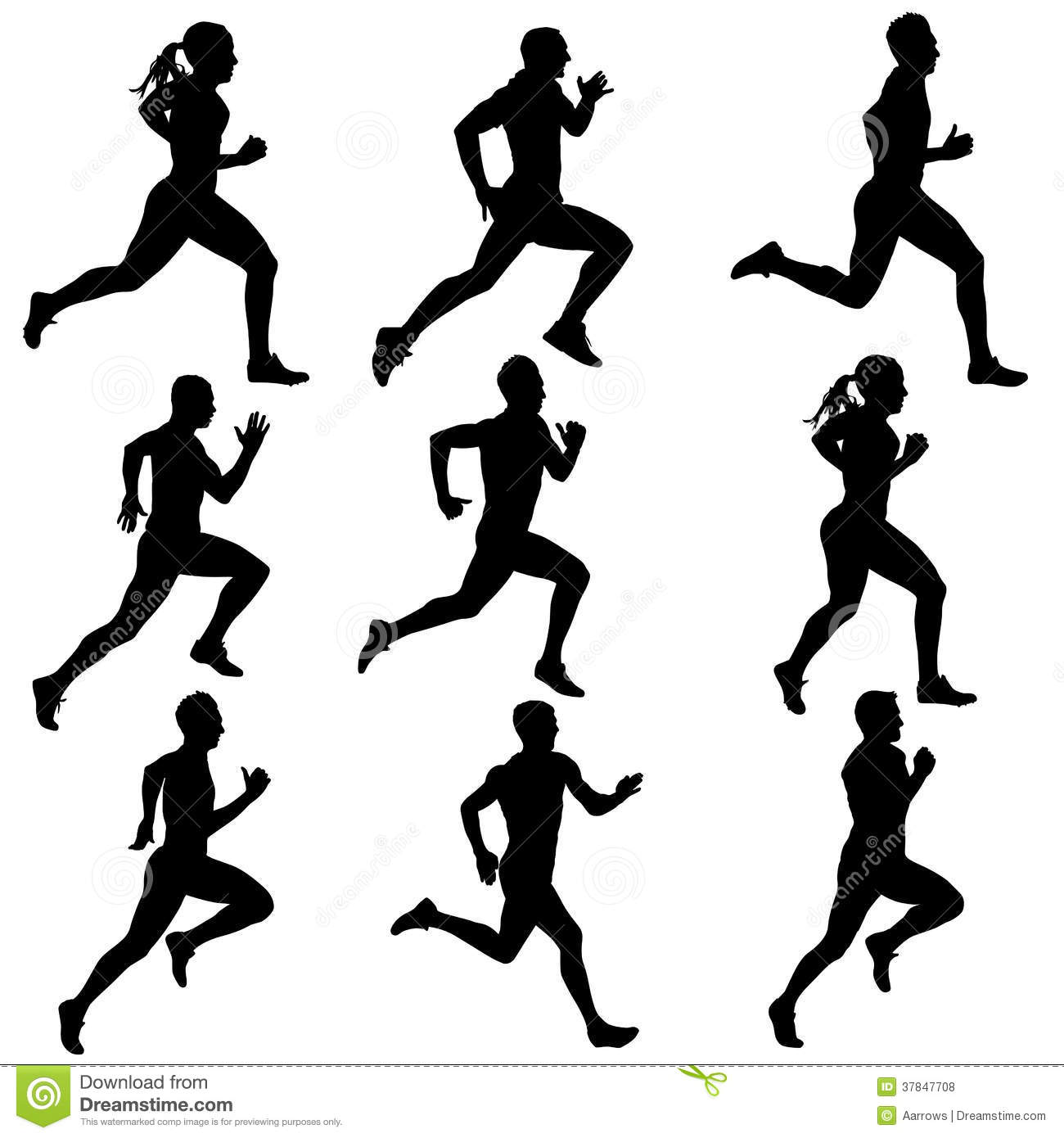 Exercise Silhouette Clipart - Clipart Kid