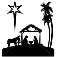 Nativity Silhouette Clipart - Clipart Kid