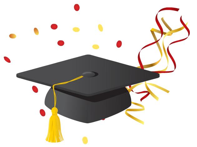 Graduation Of Stuff Clipart - Clipart Kid