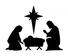 Clip Art Nativity Silhouette Clip Art Free nativity silhouette clipart kid patterns best