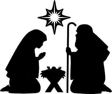 Nativity Silhouette Clipart