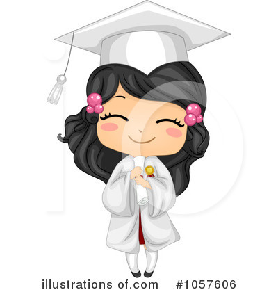 Royalty Free  Rf  Graduation Clipart Illustration By Bnp Design Studio