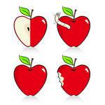 Antioxidantappleartbitecaringcartoonchompclipdeliciousdesign
