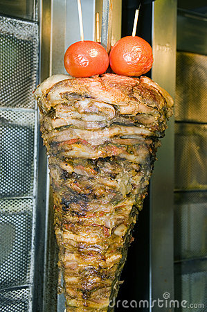 Authentic Greek Gyro Athens Greece Royalty Free Stock Image   Image