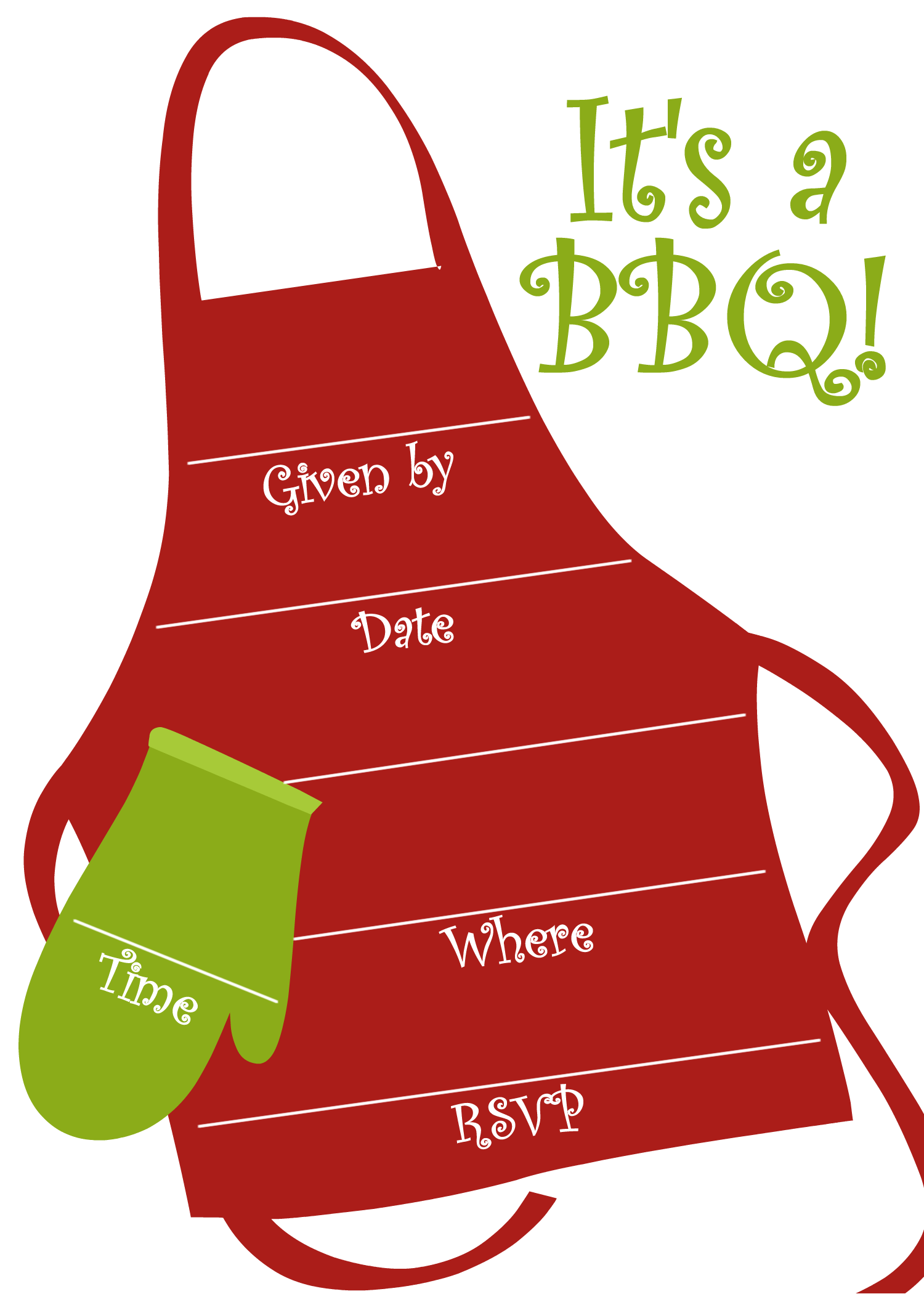 Bbq For Invitations Clipart - Clipart Kid