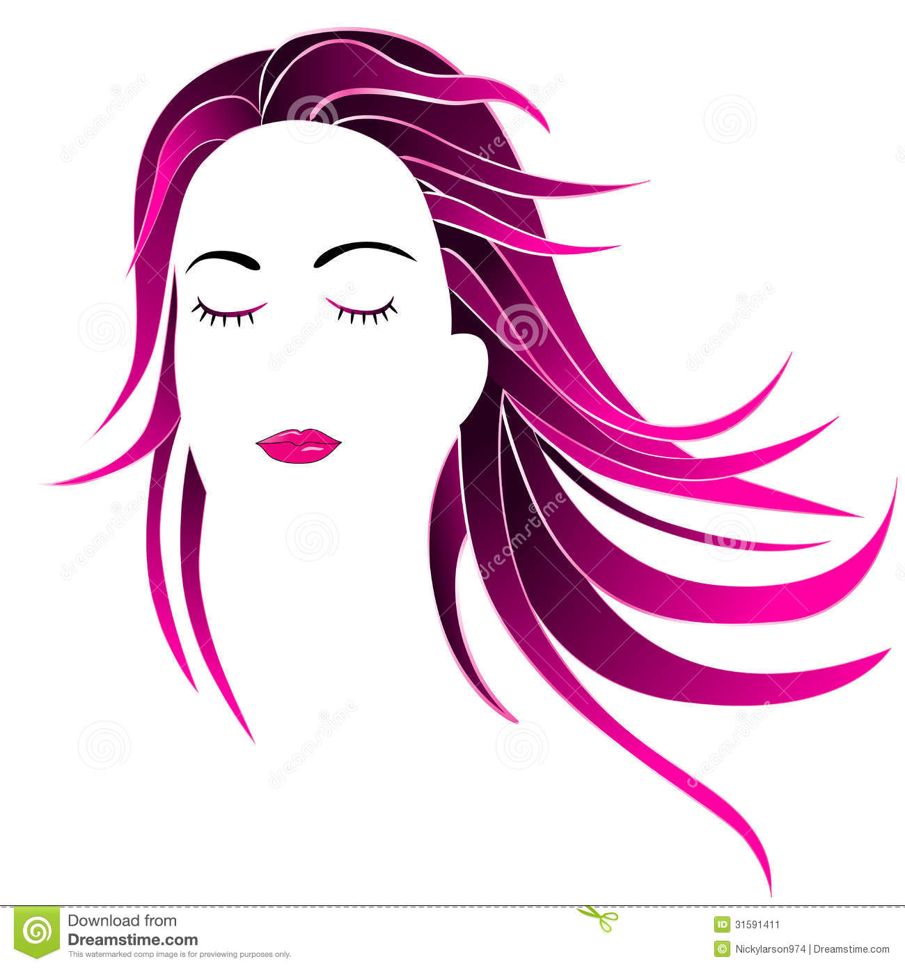 free clipart hairstyles - photo #42