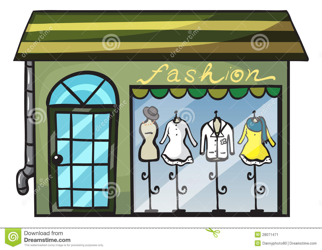 Clothing Store Clipart - Clipart Suggest