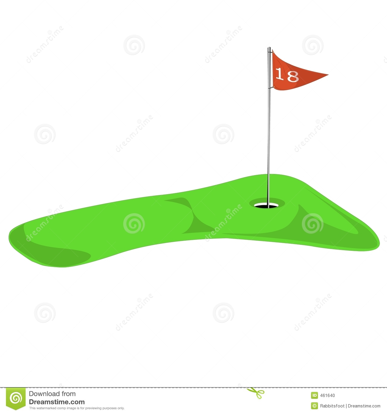 Golf Hole Clipart - Clipart Suggest