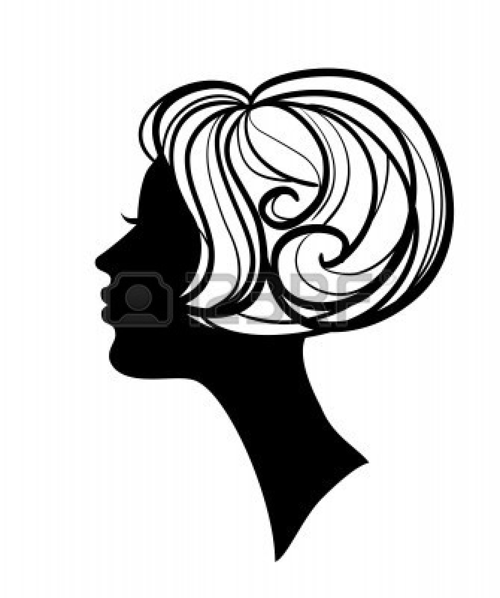 free clipart hairstyles - photo #16