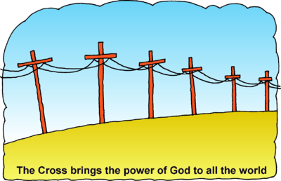 Power Lines Clipart Just Like The Power Lines That Bring Us