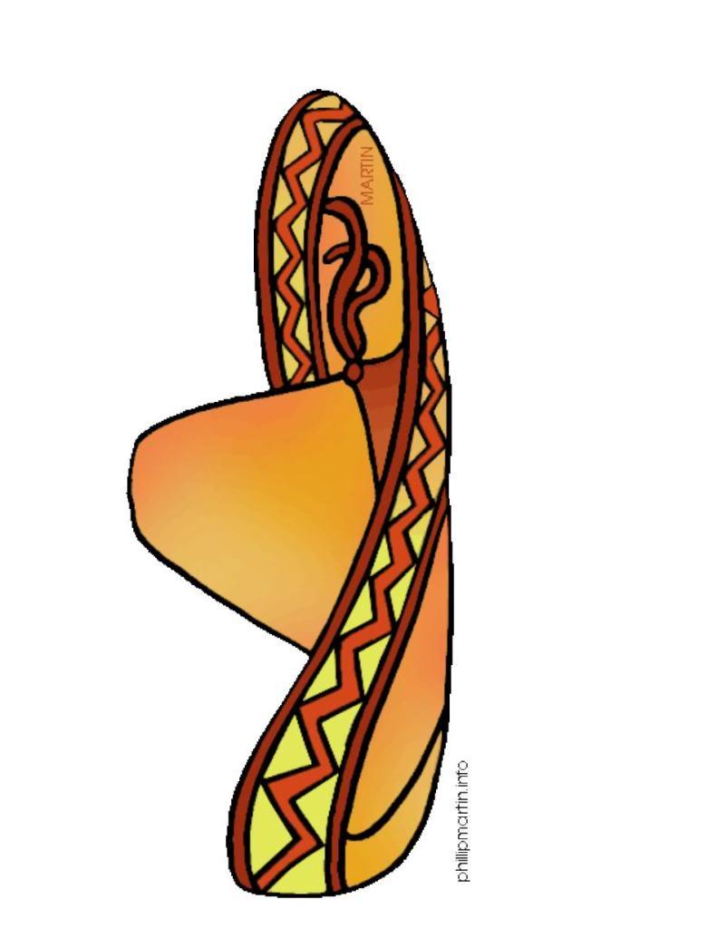 Mexico Sombrero Hat Clipart - Clipart Suggest