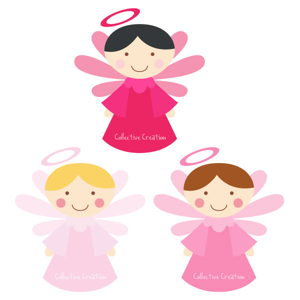 Baby girl angel clipart clipart suggest for Angel clipart
