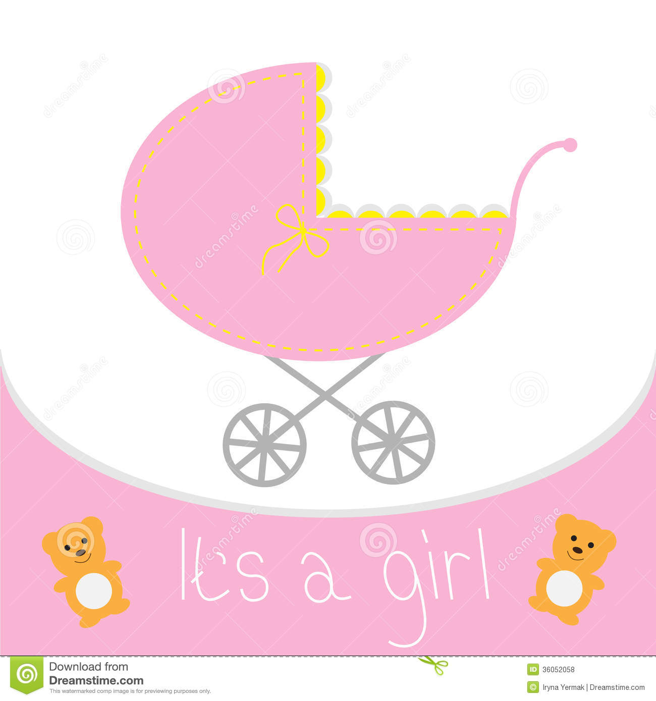 clipart for baby shower cards - photo #49