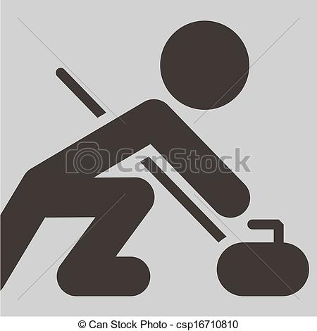 Curling Rock Image Search Results Picture Clipart   Free Clip Art