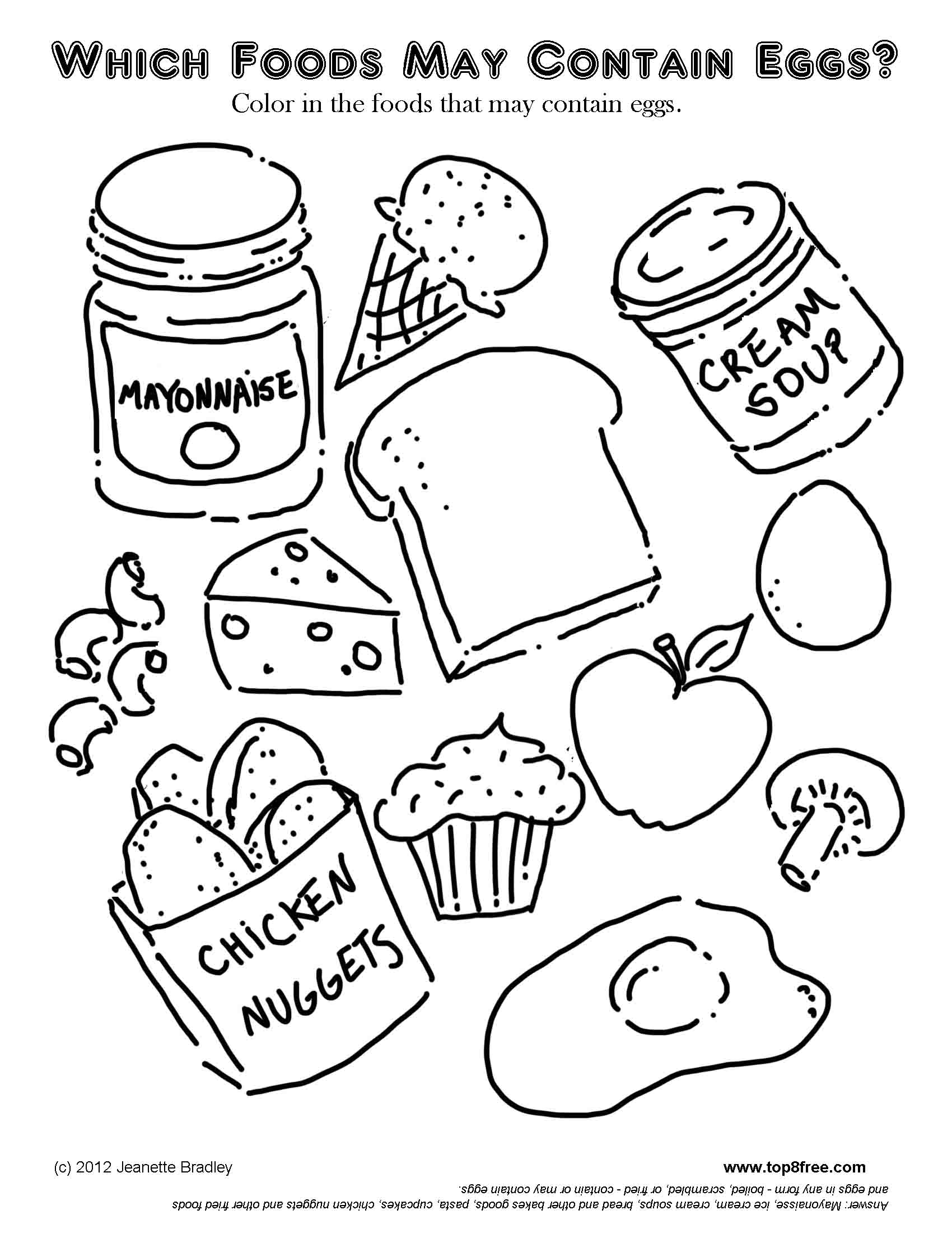 Clip Art Mexican Food Coloring Pages food coloring pages eassume com page az pages