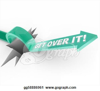 Over It   Overcoming A Challenge Or Problem  Stock Clipart Gg58886961