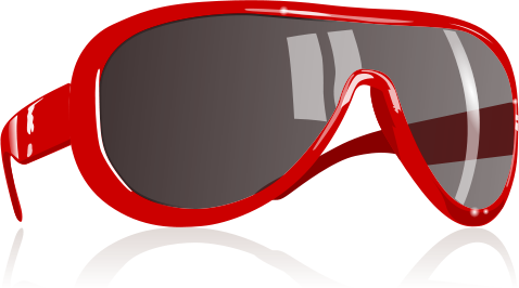 Red Sunglasses   Http   Www Wpclipart Com Clothes Sunglasses Red
