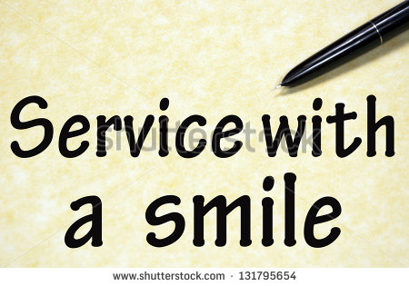 Service With A Smile Clipart Service With A Smile Symbol
