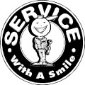 Service With A Smile   Custom T Shirts Custom Hoodies T Shirt