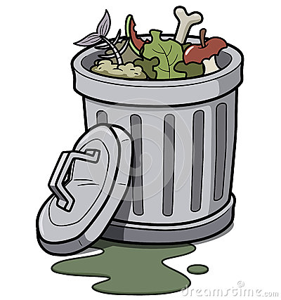 Clip Art Trash Clip Art stinky trash clipart kid garbage can vector illustration