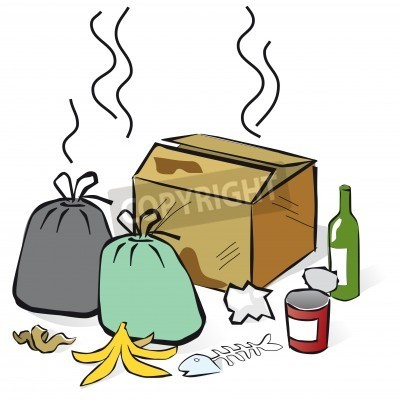 Stinky Trash Clipart
