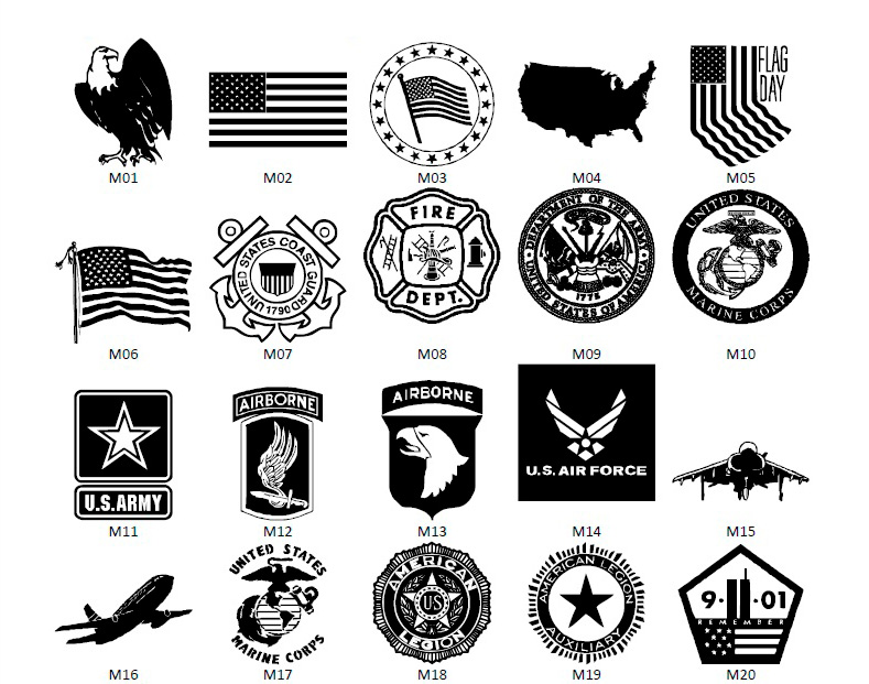 Armed Forces Symbols Clipart - Clipart Kid