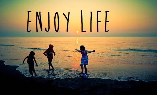 Enjoy Life Clip Art