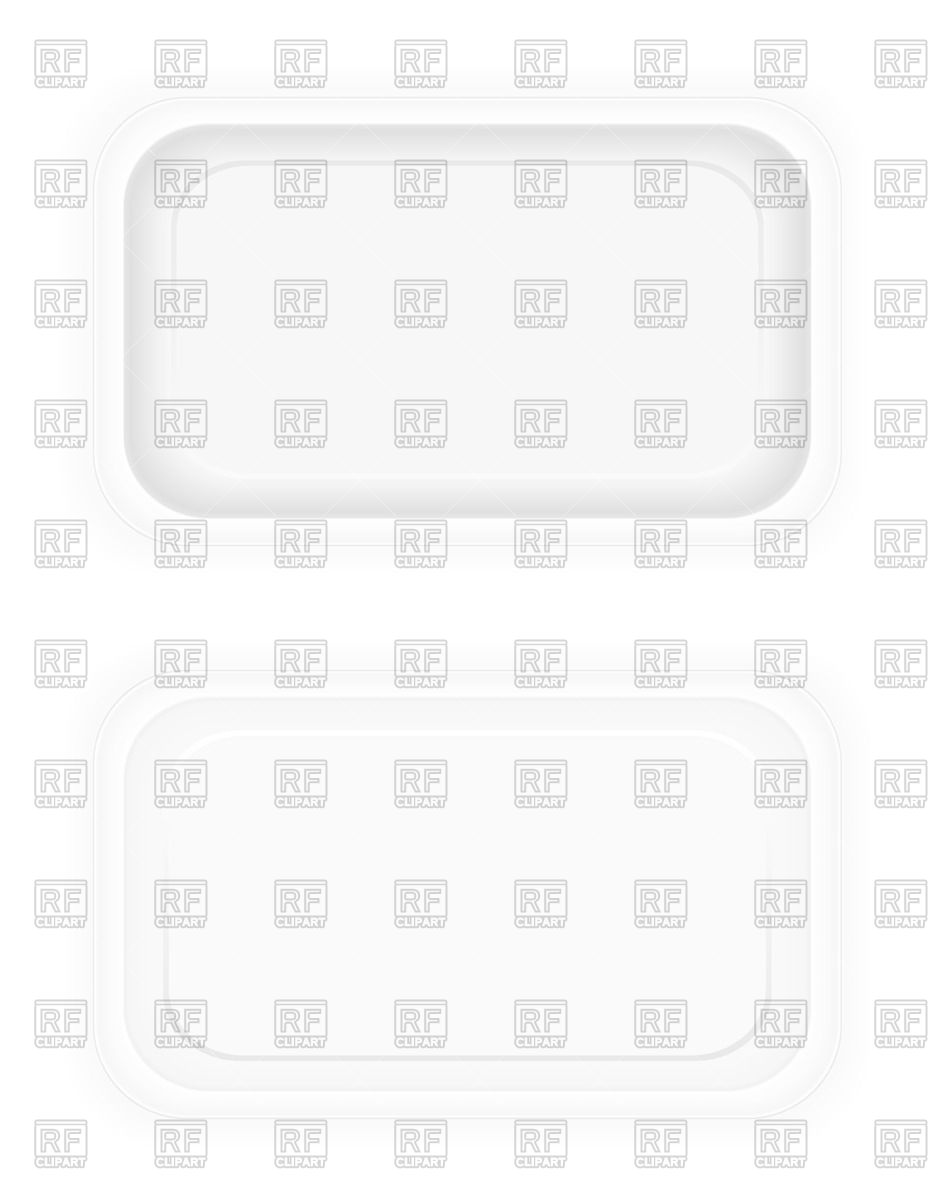 Blank Plastic Container For Food   View From Above 71056 Download