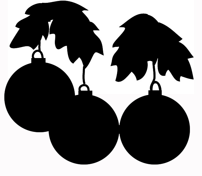 Christmas Silhouettes Christmas Tree Clip Art Dec Jpg