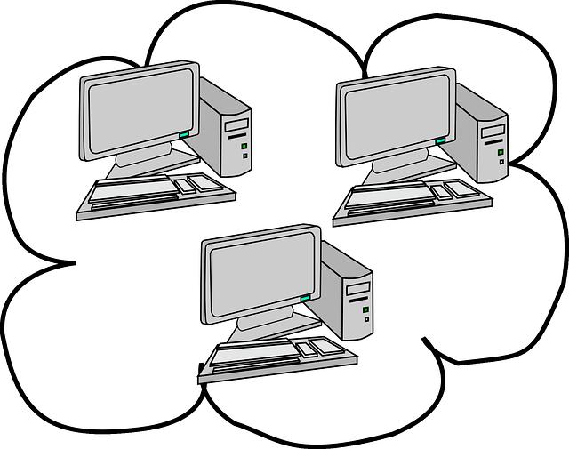 Computer Network Cloud Diagrams Computing Diagram