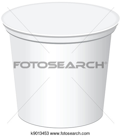 Drawing   Plastic Container  Fotosearch   Search Clipart Illustration