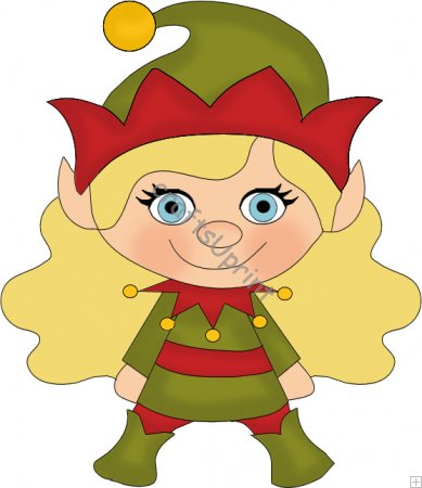 Girl Elf    0 35   Craftsuprint Clipart   We Are Mad About Clipart