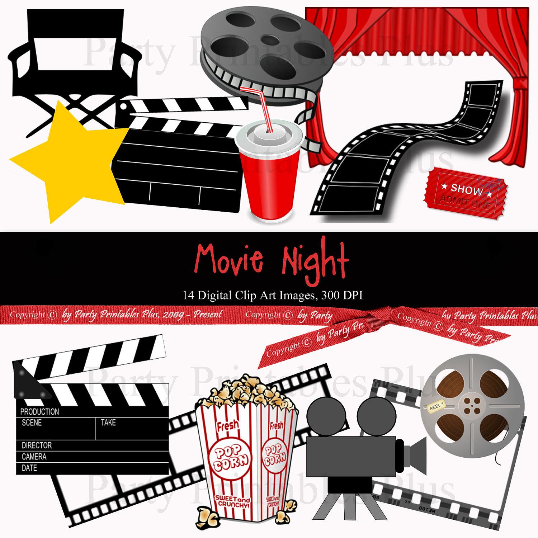 Movie Theme Clipart - Clipart Kid