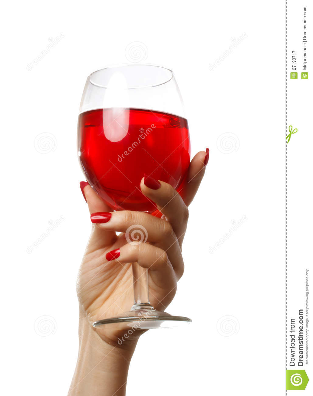 More Similar Stock Images Of   Woman Holding A Wine Glass