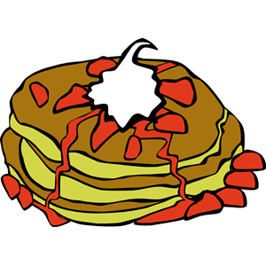 Pancakes Berries Clipart Cliparts Of Pancakes Berries Free Download