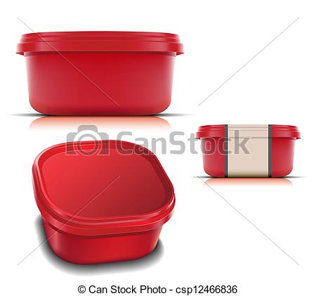 Plastic Container For Foods    Csp12466836