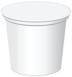Plastic Container Royalty Free Stock Photo