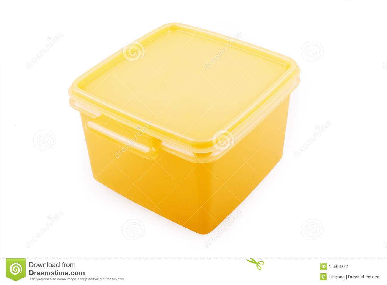 Plastic Container Stock Photography   Image  12566222