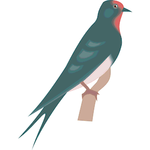Swallow Clipart Cliparts Of Swallow Free Download  Wmf Eps Emf Svg