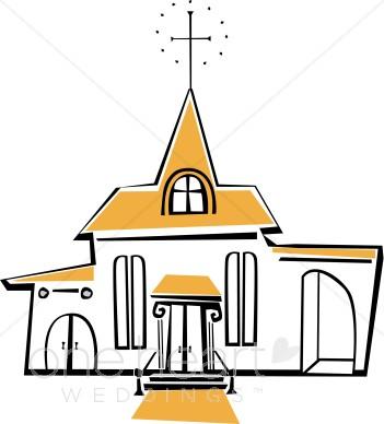 Wedding Church Clipart - Clipart Kid