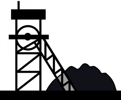 Coal Mine Clip Art  Preview