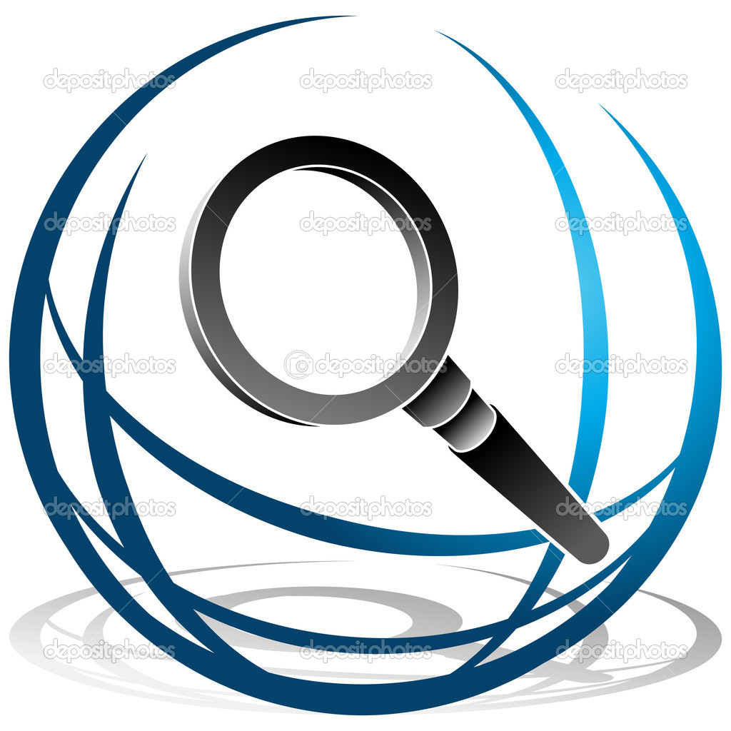 Global Search Icon   Stock Vector   Cteconsulting  5557224