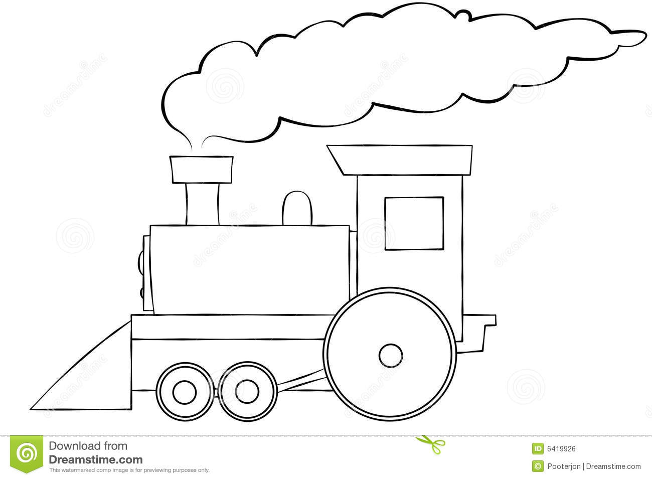 Line Art Train : Clip art train smoke clipart suggest
