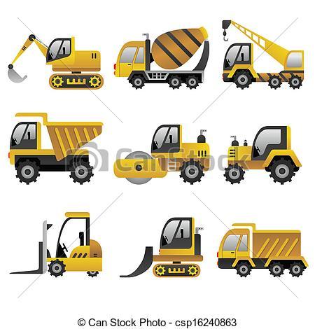 Construction Vehicle Clipart - Clipart Kid