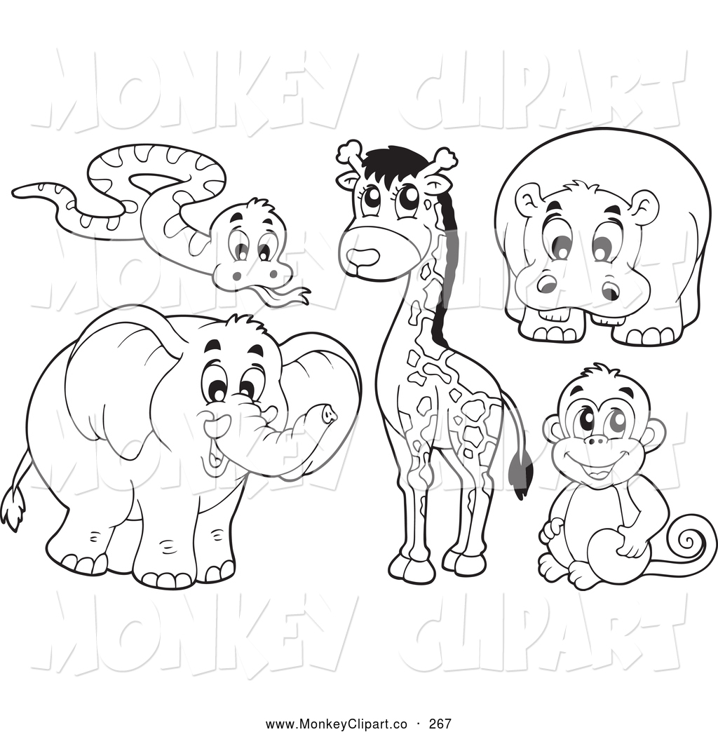 Africa Animals Clipart