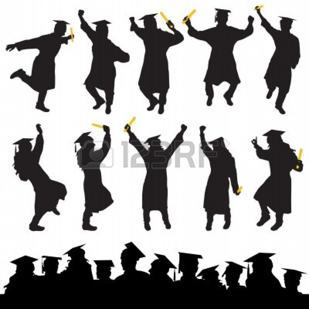 Free Graduation Clip Art - Synkee