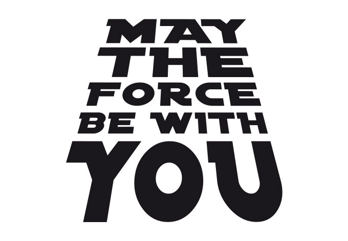 May The Force Be With You Clip Art   Search Results